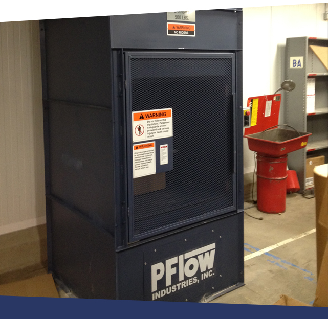 box lift for rapid supplies & equipment movement